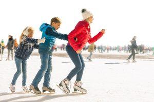 Ice Skating Family Fun