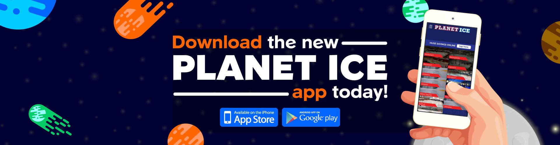 Planet Ice App