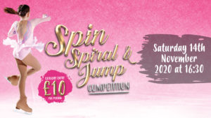 Spin, Spiral, Jump Competition
