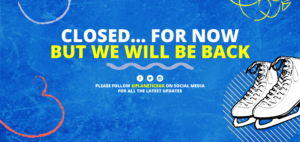We Are Closed For Now