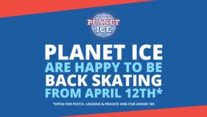 Planet Ice Reopening Header