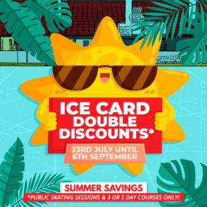 Ice Card Membership Double Discounts