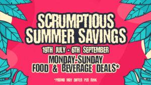 Food & Drink Summer Savings