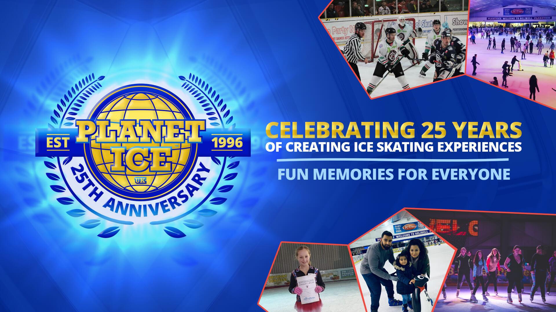 Planet Ice 25th Birthday Celebrations